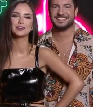 Geórgia Fröhlich e Thiago Bertoldo